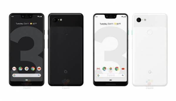 Google Pixel 3 XL Black colour model leaks