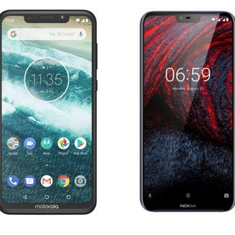 Spec comparison: Motorola One Power vs Nokia 6.1 Plus