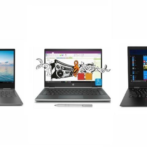 Convertible Laptops Comparo: Lenovo Yoga 730 vs HP Pavilion x360 vs ThinkPad X1 Yoga