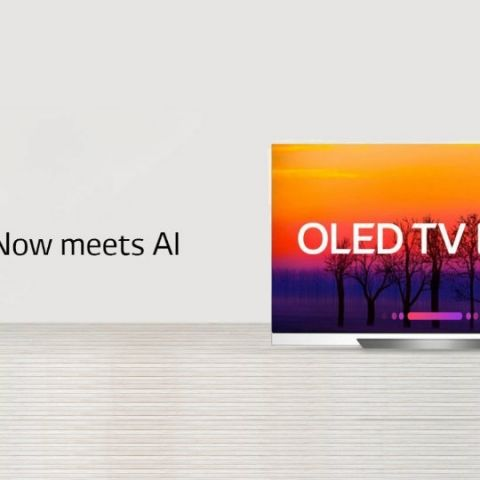Enjoy 4K picture quality, ThinQ AI and more with the LG OLED TV AI ThinQ