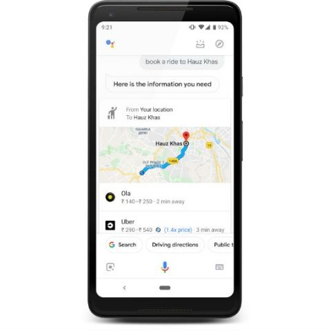 Google Assistant in India can now be used to book Uber and Ola rides