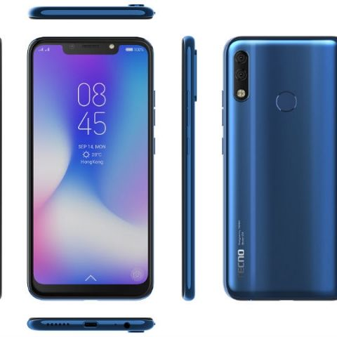 TECNO CAMON iCLICK2 with 24 MP AI front camera and 6 2-inch HD+