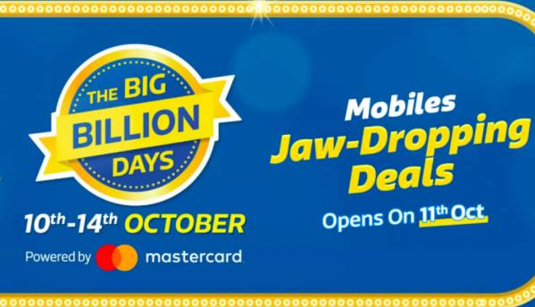 Top 5 smartphone deals on Flipkart Big Billion Days Sale (Preview)