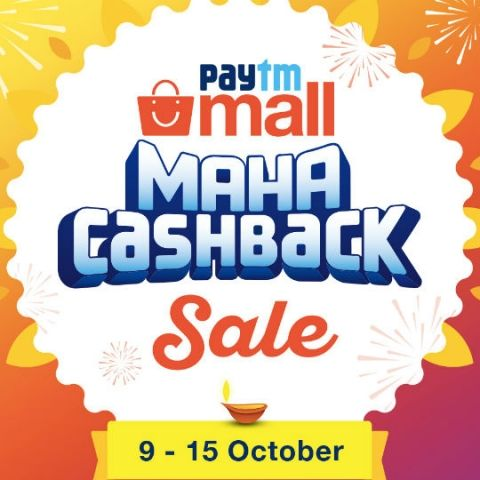 Paytm Maha Cashback Sale from Oct 9 - Oct 15: Deals on smartphones, laptops, cameras, bluetooth speakers, smart TVs and more