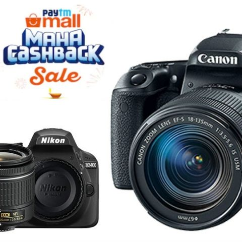 Paytm Maha Cashback Sale: Deals on GoPro Hero 7 Black, Canon EOS 1300D, Nikon D5300 and more