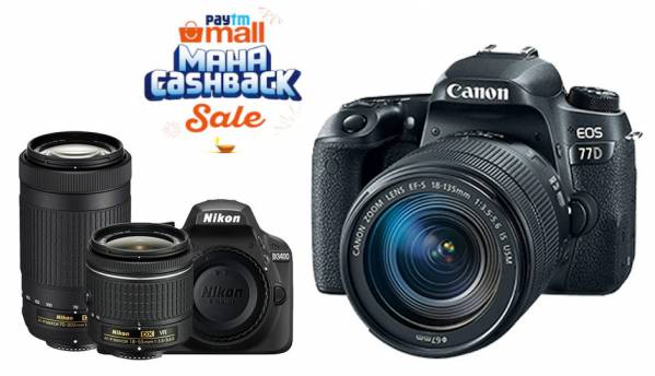 Paytm Maha Cashback Sale: Deals on GoPro Hero 7 Black, Canon EOS 1300D, Nikon D5300 and more