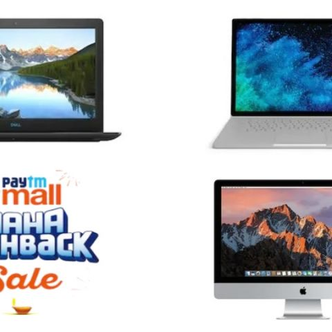 Paytm Mall Maha Cashback Sale: Best deals on laptops from Microsoft, Apple, Lenovo, Dell