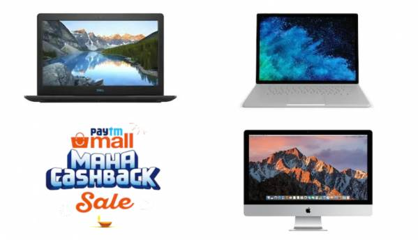 Paytm Mall Maha Cashback Sale: Best deals on laptops from Microsoft, Apple, Lenovo, Dell