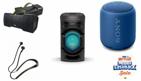 Paytm Maha Cashback Sale: Deals on headphones and bluetooth speakers from Sony, JBL, Jabra and more