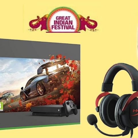 Amazon Great Indian Festival Sale (Prime Exclusive): Best deals on games, monitors, gaming consoles, gaming headsets, Wi-Fi Routers