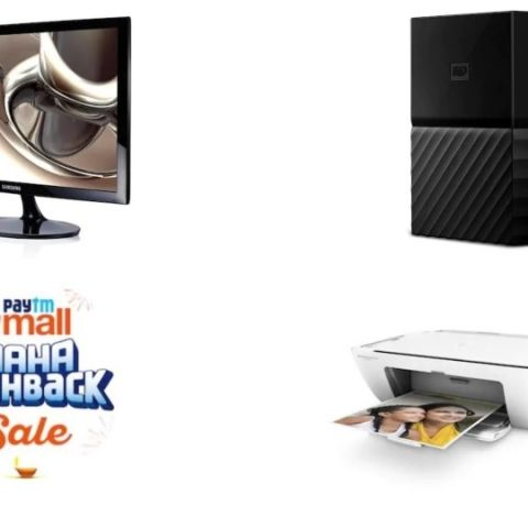 Paytm Mall Maha Cashback Sale: Monitors and other computer peripherals