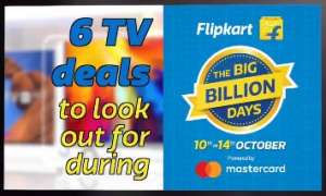 "6 Smart TV Deals to Look Out For During Flipkart's ""The Big Billion Days"" Sale 