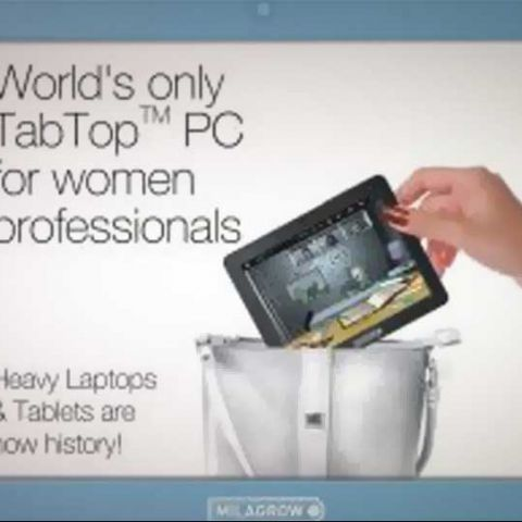 Milagrow launches TabTop PC for women professionals, at Rs. 13,990