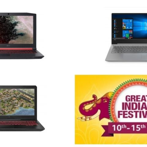 Amazon Great Indian Festival Sale Day 1: Best laptop deals on Acer, Dell, Lenovo and Asus