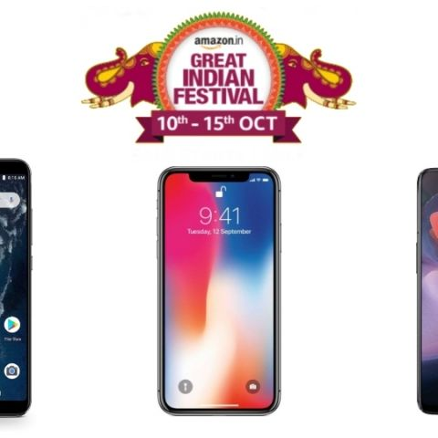 reputable site b1663 8d720 Amazon Great Indian Festival Sale Day 1 Deals: Discounts on Apple ...