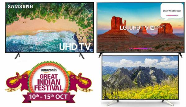 Amazon Festival Sale: Last chance to avail 55-inch 4K TV deals from Sony, Samsung, LG and more