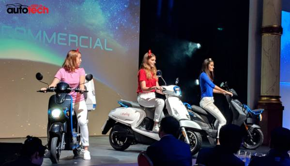 Ionex electric scooters will ride into India soon, says KYMCO Chairman