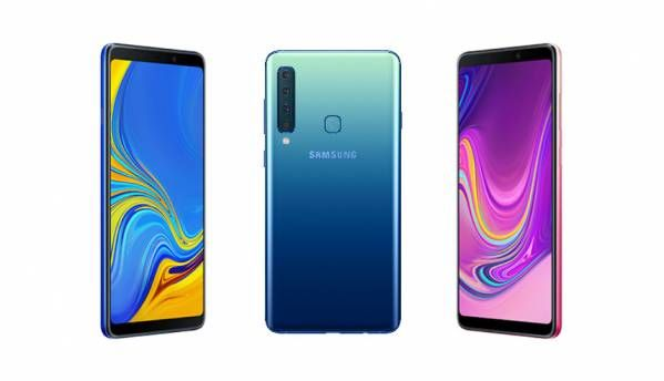 Samsung Galaxy A9 (2018) with four rear cameras launched in India at Rs 36,990