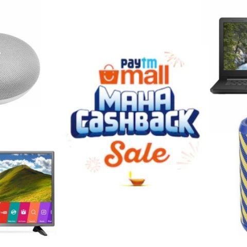Paytm Mall Maha Cashback Sale Day 3: Discounts on laptops, TVs, speakers and more