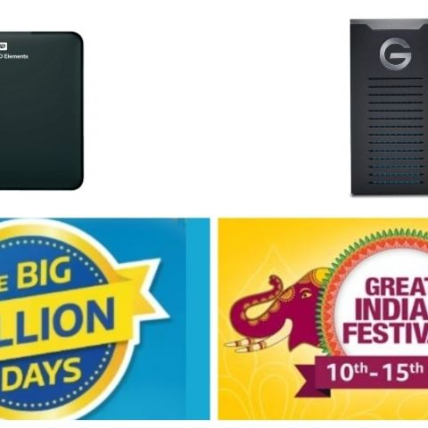 Amazon and Flipkart Festive Sale Day 3:Deals on external hard drives by Seagate, WD, Toshiba and more