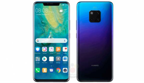 Huawei Mate 20 Pro images leaked, 6 GB RAM/128 GB variant may cost 899 GBP