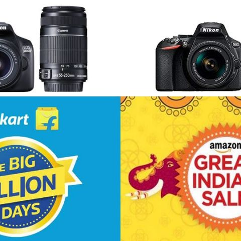 Amazon and Flipkart Festive Sale Day 3: Deals on cameras by Nikon, Fujifilm and Canon