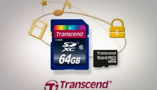 Transcend unveils SD and microSD memory cards with built-in copy protection
