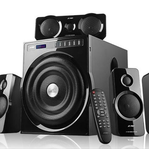 F&D F6000X true Cinematic Surround Sound speakers launched for Rs 14,990