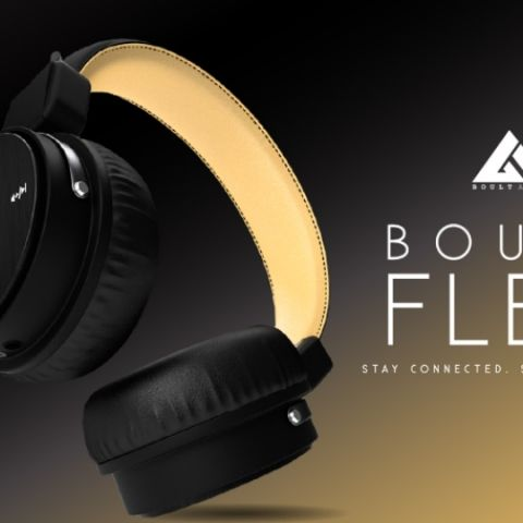 Boult Audio's Flex bluetooth wireless on-ear stereo headphones with Mic launched