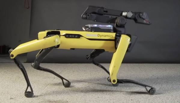 Boston Dynamics' robotic dog can now shimmy and moonwalk to Uptown Funk