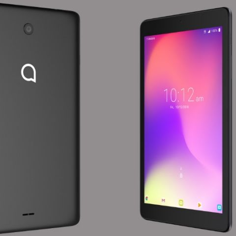 Alcatel 3T 8 tablet with parental control mode launched