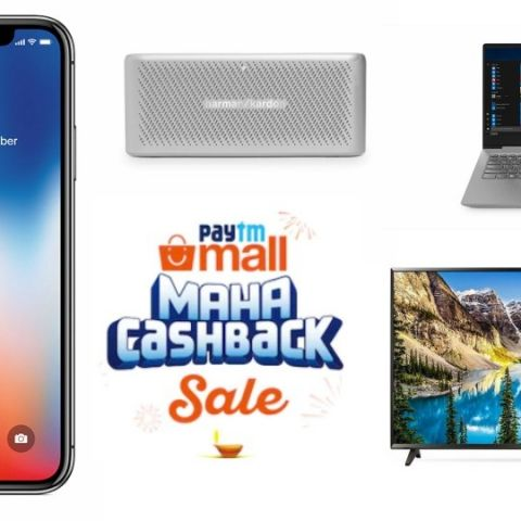 Paytm Mall Maha Cashback Sale: Top 10 deals on smartphones, speakers, laptops and more