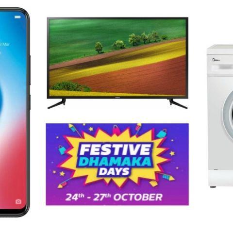 Flipkart Festive Dhamaka Days: Deals on Oppo F9, Vivo V9 and more