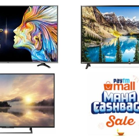 Paytm Mall Maha Cashback Sale Day 2: Best TV deals