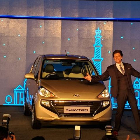 Hyundai launches the new Santro with Smart Auto AMT