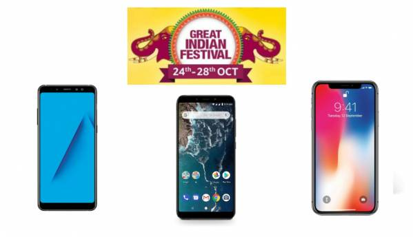 Amazon Great Indian Festival Sale Day 1: Top five deals on smartphones from Apple, Xiaomi, and others