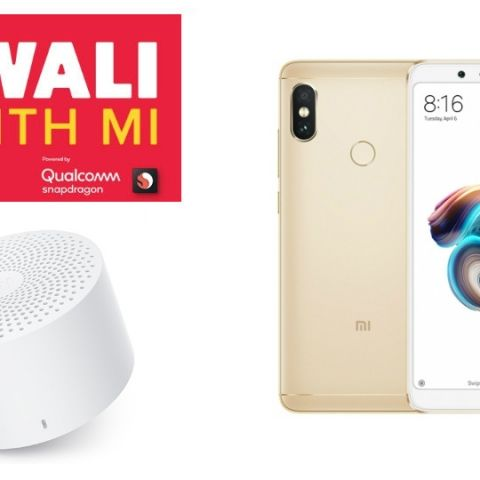 aa3f3bde5 Xiaomi  Diwali With Mi  Sale Day 2  Mi Compact Bluetooth Speaker 2 and  Redmi Note 5 Pro to be available at Re 1 today