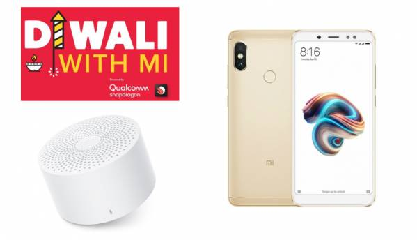 Xiaomi 'Diwali With Mi' Sale Day 2: Mi Compact Bluetooth Speaker 2 and Redmi Note 5 Pro to be available at Re 1 today