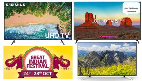 Amazon Great Indian festival phase 2: Deals on TVs from Samsung, TCL, LG, Panasonic and more