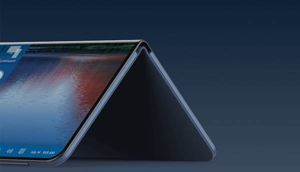 Samsung announces that they are working on a laptop with foldable display