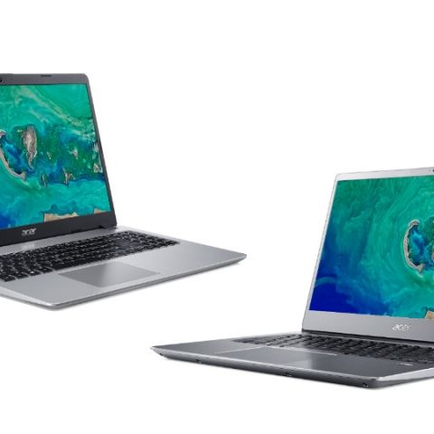Acer Aspire 5s and Swift 3 laptops with Intel Whiskey Lake processors launched in India