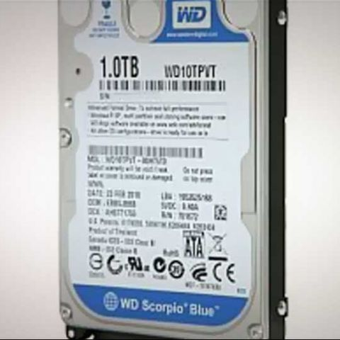 1TB WD Scorpio Blue HDD for notebooks launched in India