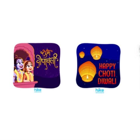 Hike launches over 100 animated stickers in six languages for festive season