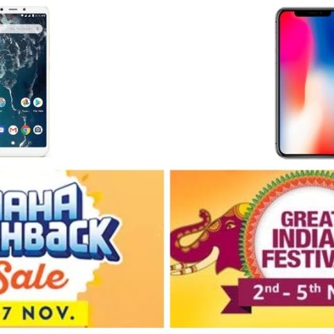Amazon and Paytm Sale: Best smartphone deals this Diwali