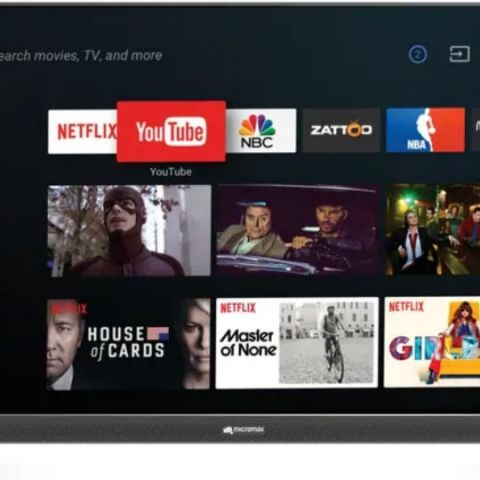 Micromax launches Google-Certified Android TVs in India, prices start at Rs 51,990