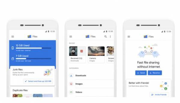 Google Files Go rebranded to Files, has over 30 million monthly users
