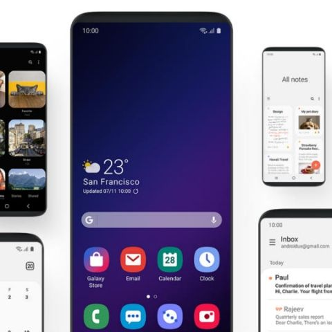 Samsung's new One UI will make its way to Galaxy S8 and Note 8 devices