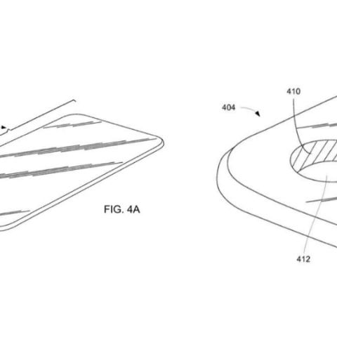 Future iPhones could have a display hole for selfie camera, Apple patent reveals