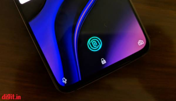 OnePlus 6T's in-display fingerprint sensor also registers wet fingers and cuts to facilitate faster recognition: OnePlus