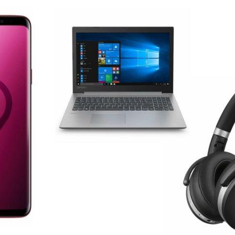 Top 5 tech deals on Amazon: Samsung Galaxy S9+, Sennheiser HD 4.50 and more